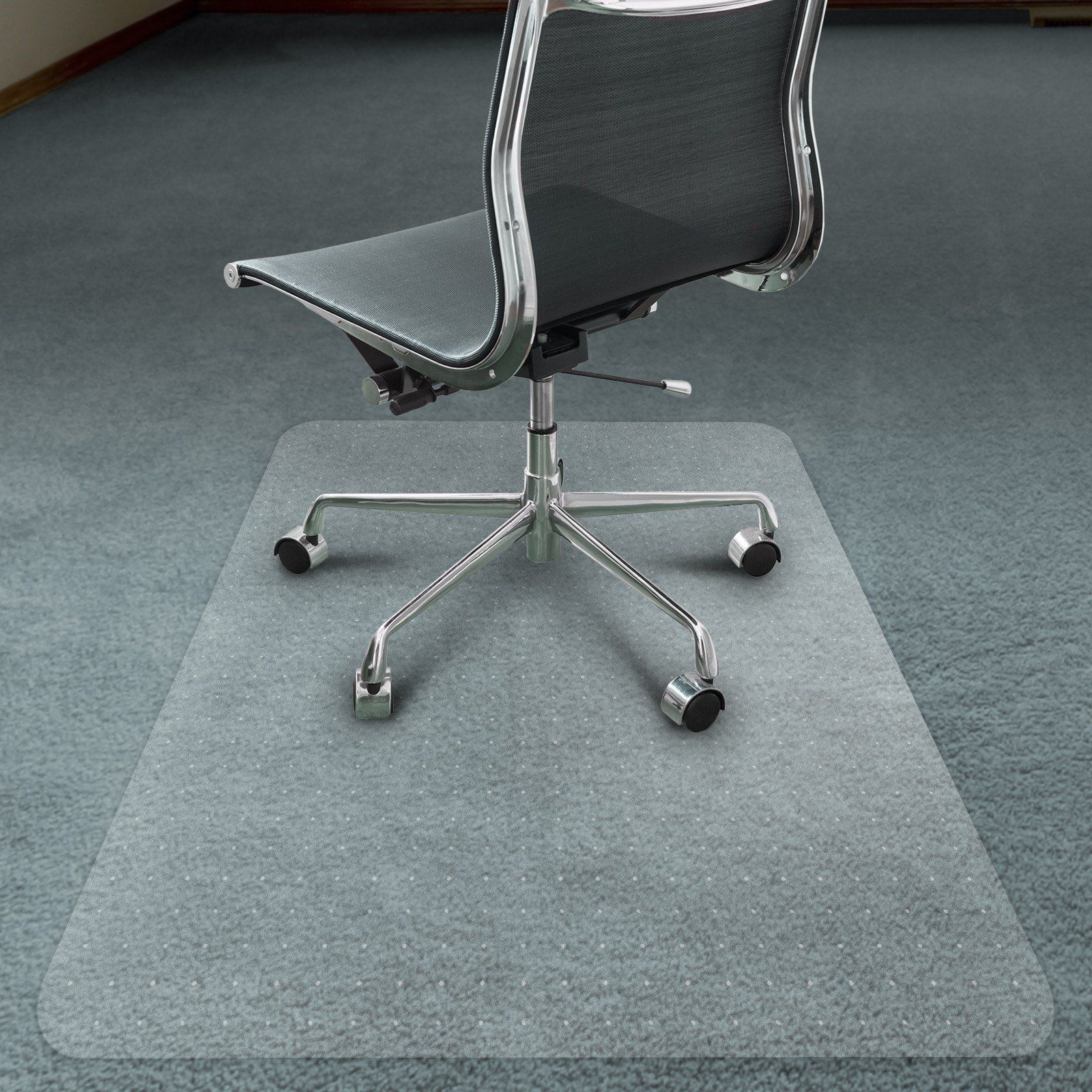 polycarbonate chair mat for carpets this strong and transparent
