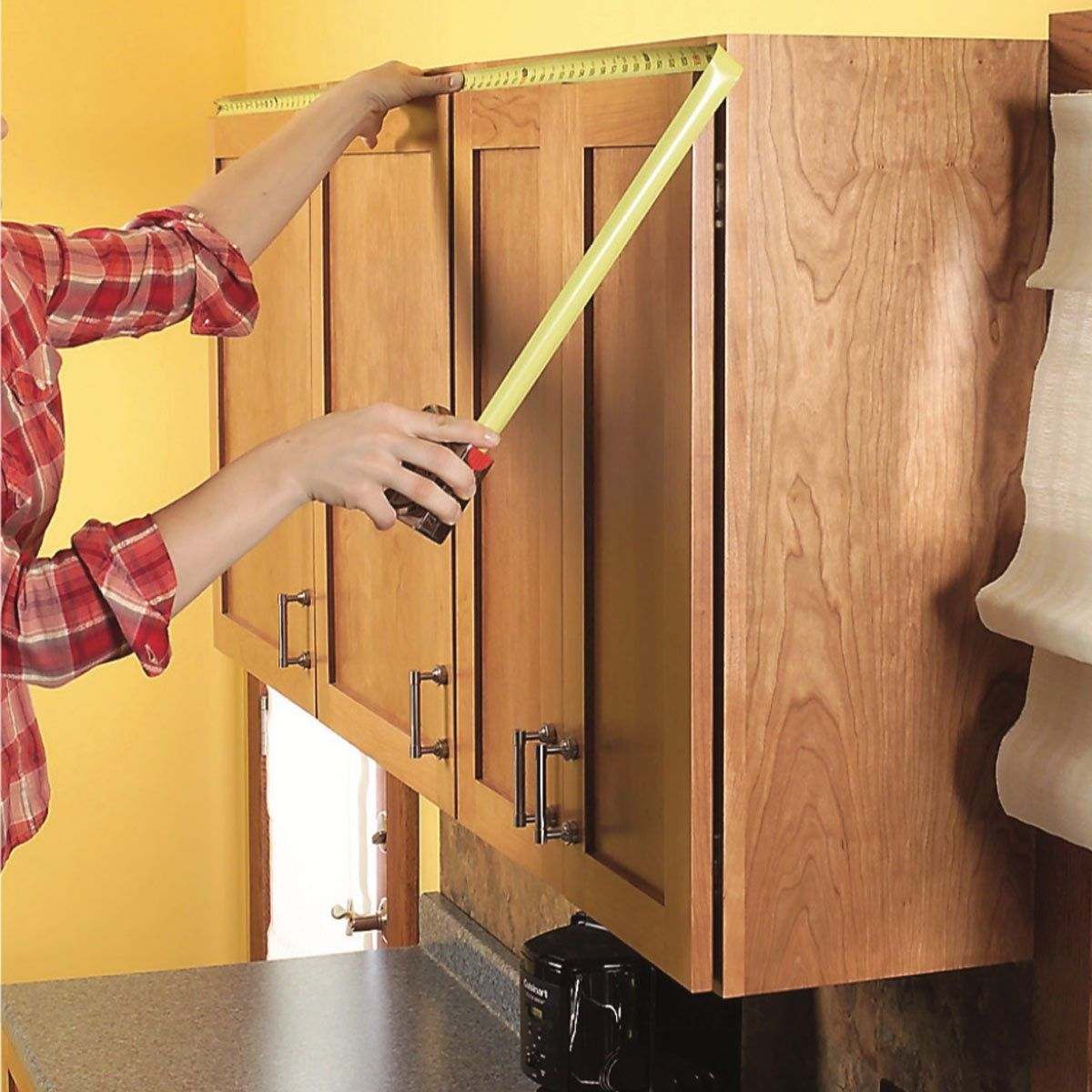 How To Add Shelves Above Kitchen Cabinets Diy Family Handyman In 2020 Above Kitchen Cabinets Diy Cabinets Diy Kitchen Cabinets