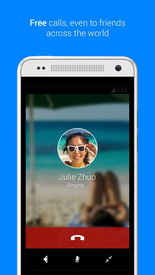 Best FaceTime for Android substitutes Facebook messenger
