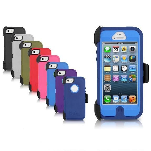 low priced fe4f9 890f7 eBay: Otterbox Defender Series Case for Apple iPhone 5 & 5s w/ Belt ...