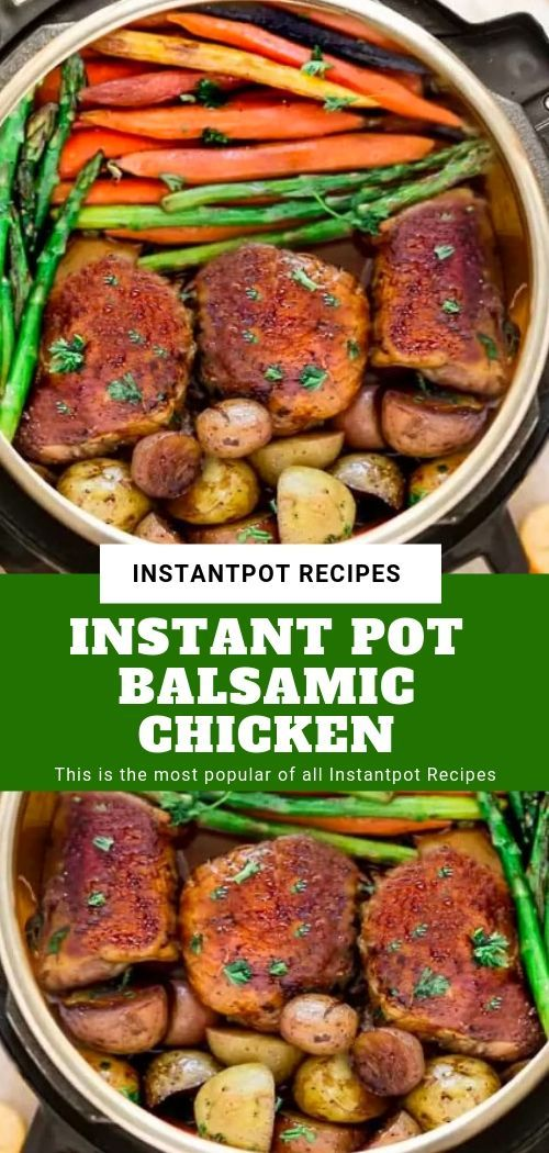 INSTANT POT BALSAMIC CHICKEN  #instantpotchickenrecipes