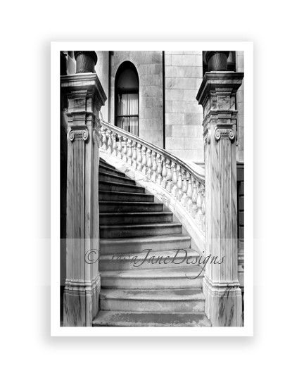 Alphabet Architecture | Architectural Print | Black and White Art ...