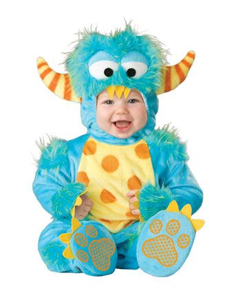 Infant Toddler Lil Monster Costume - Infant/Toddler Dinosaurs & Reptiles Halloween Costumes