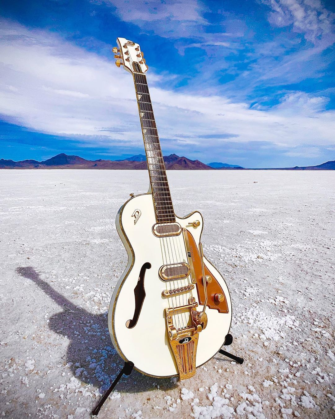 """Duesenberg Guitars 🔹 on Instagram: """"Somethings just stand alone. #duesenberg #phonic #guitar 📸:Bart"""""""