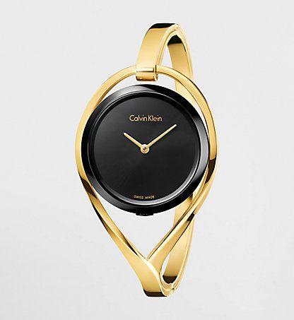 Armbanduhr Calvin Klein Light Damen Calvin Klein Deutschland Gold Tone Bangle Bangle Watches Calvin Klein Watch