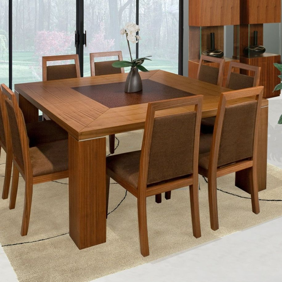 Solid Wood Square Kitchen Tables Dining Table Design Modern