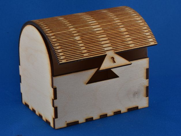 jewelry box by usjoglekar thingiverse lazer cut pinterest d coupe laser laser et d coupe. Black Bedroom Furniture Sets. Home Design Ideas