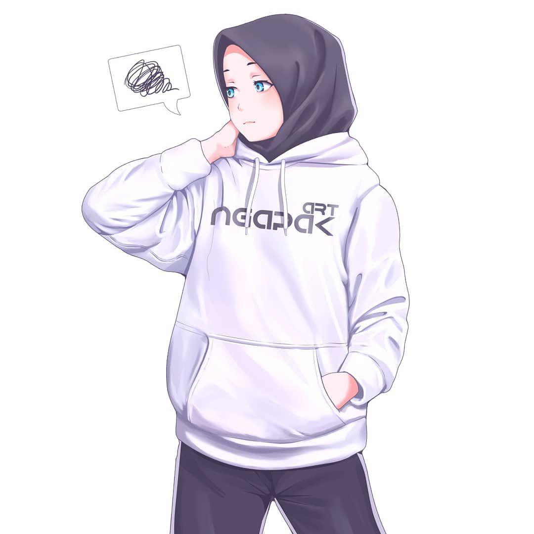 Art Ngapak On Instagram White Hoodie Sketching Anime Animegirl Webtoon Di 2020 Gadis Animasi Kutipan Anak Perempuan Ilustrasi Karakter