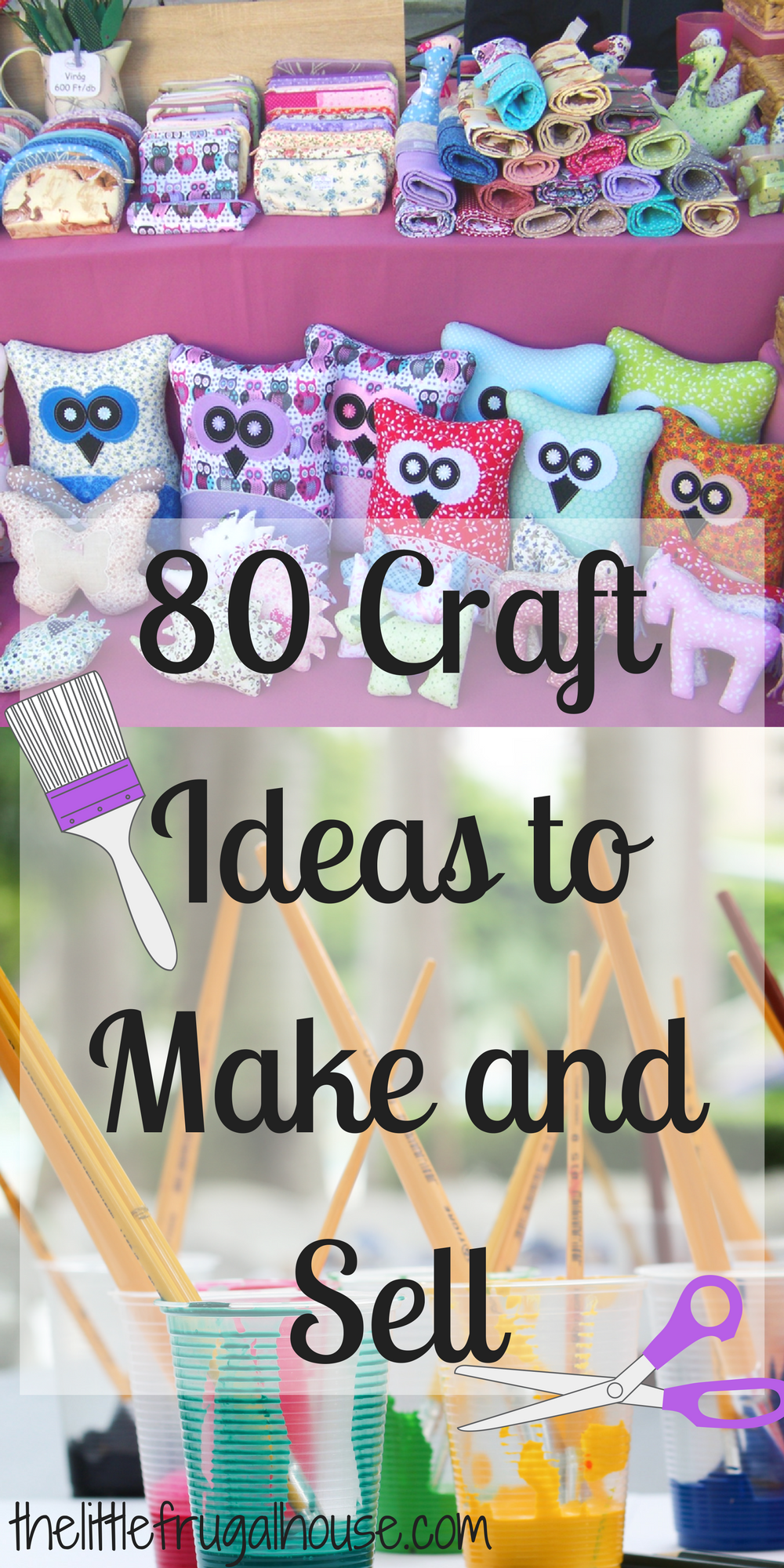 80 Crafts to Make and Sell Crafts to make, Crafts to