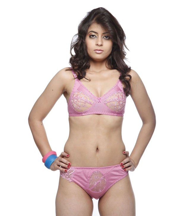 076718fb48f Cotton Bra and Panty Set