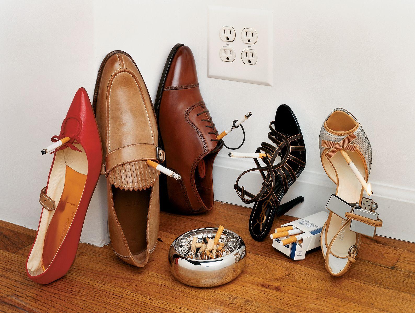 Bela Borsodi shoe photography