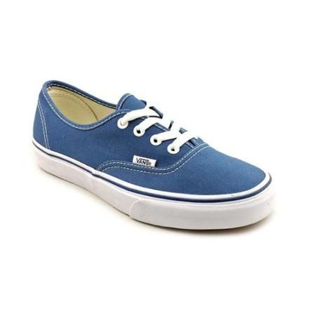 Vans Authentic  Youth US 3 Blue Sneakers