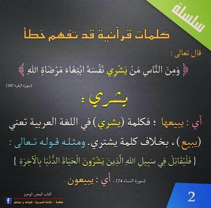 معني كلمة يشري Islamic Inspirational Quotes Islamic Phrases Quran Verses