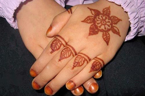 Easy Henna Designs For Kids: New-and-simple-easy-kids-mehndi-designs-2017-2018-henna