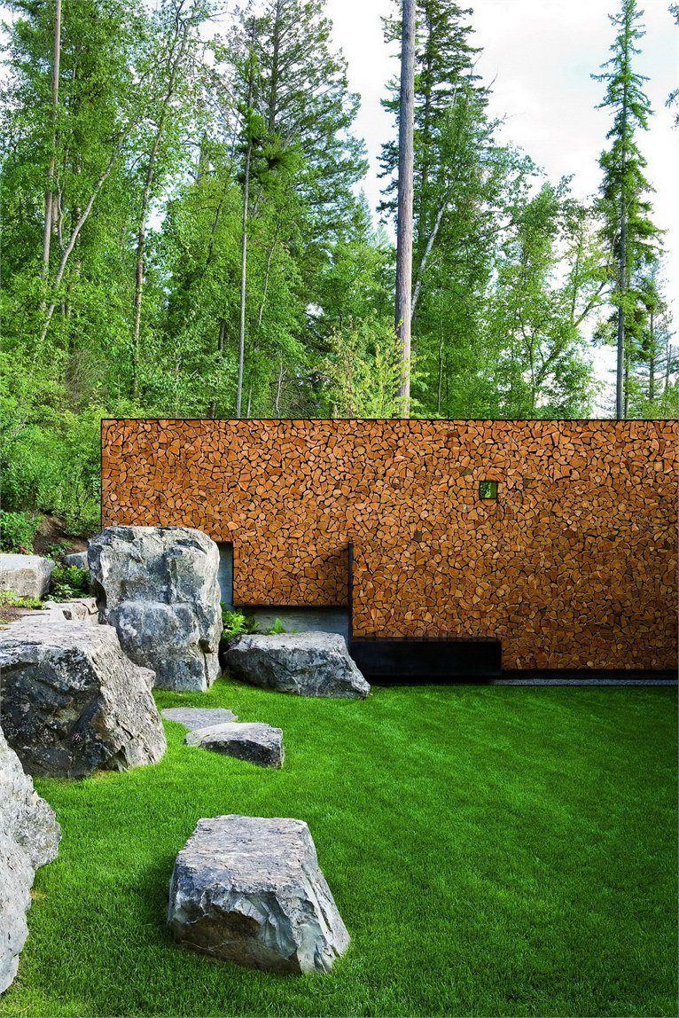 Trädgård plank trädgård : stone creek camp | TrädgÃ¥rd avskärmning: häckar, murar, spalé ...