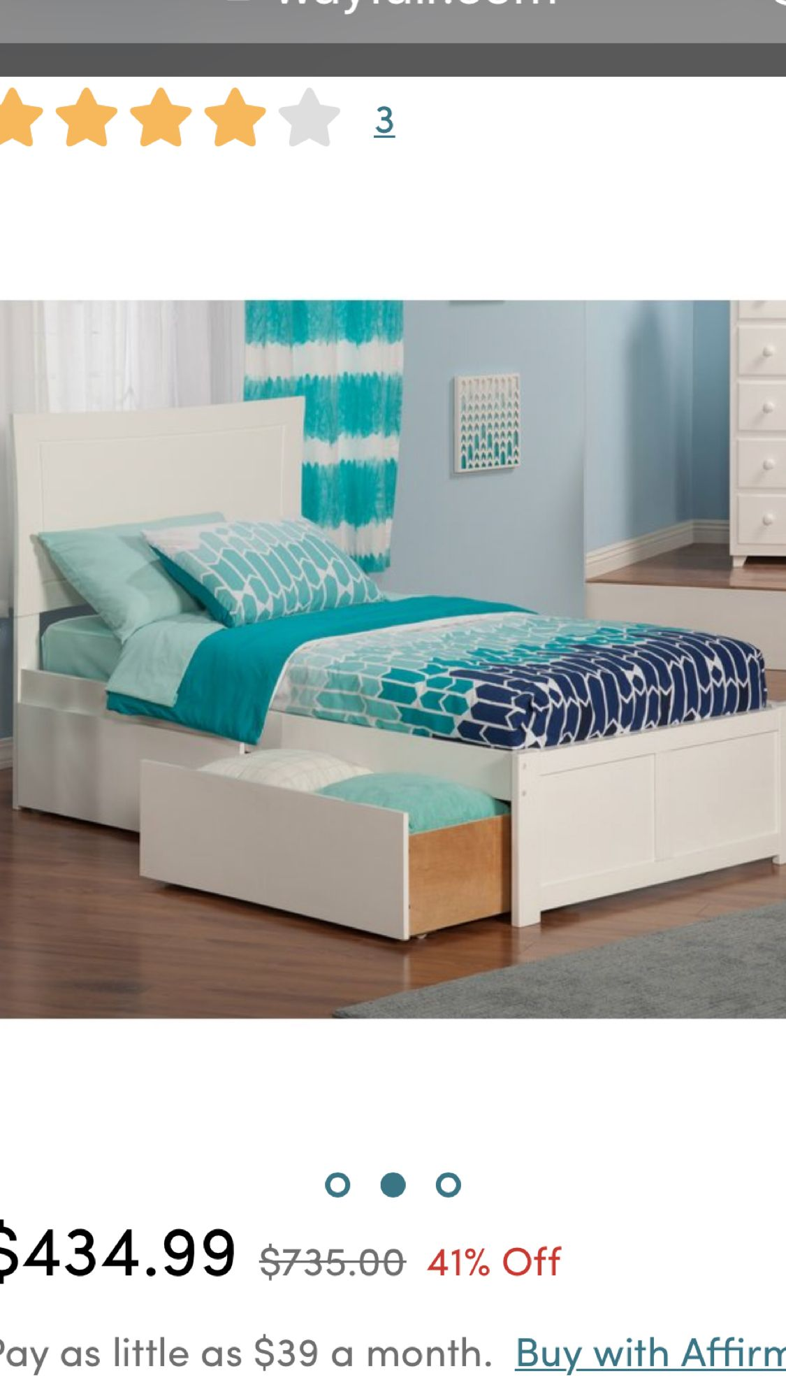 Wayfair twin xl bed with storage  Mattress bedroom, Twin xl