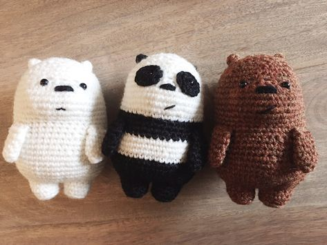 Oso Panda Amigurumi Patron Gratis : Pin by emma marsh on amigurumi pinterest amigurumi crochet and