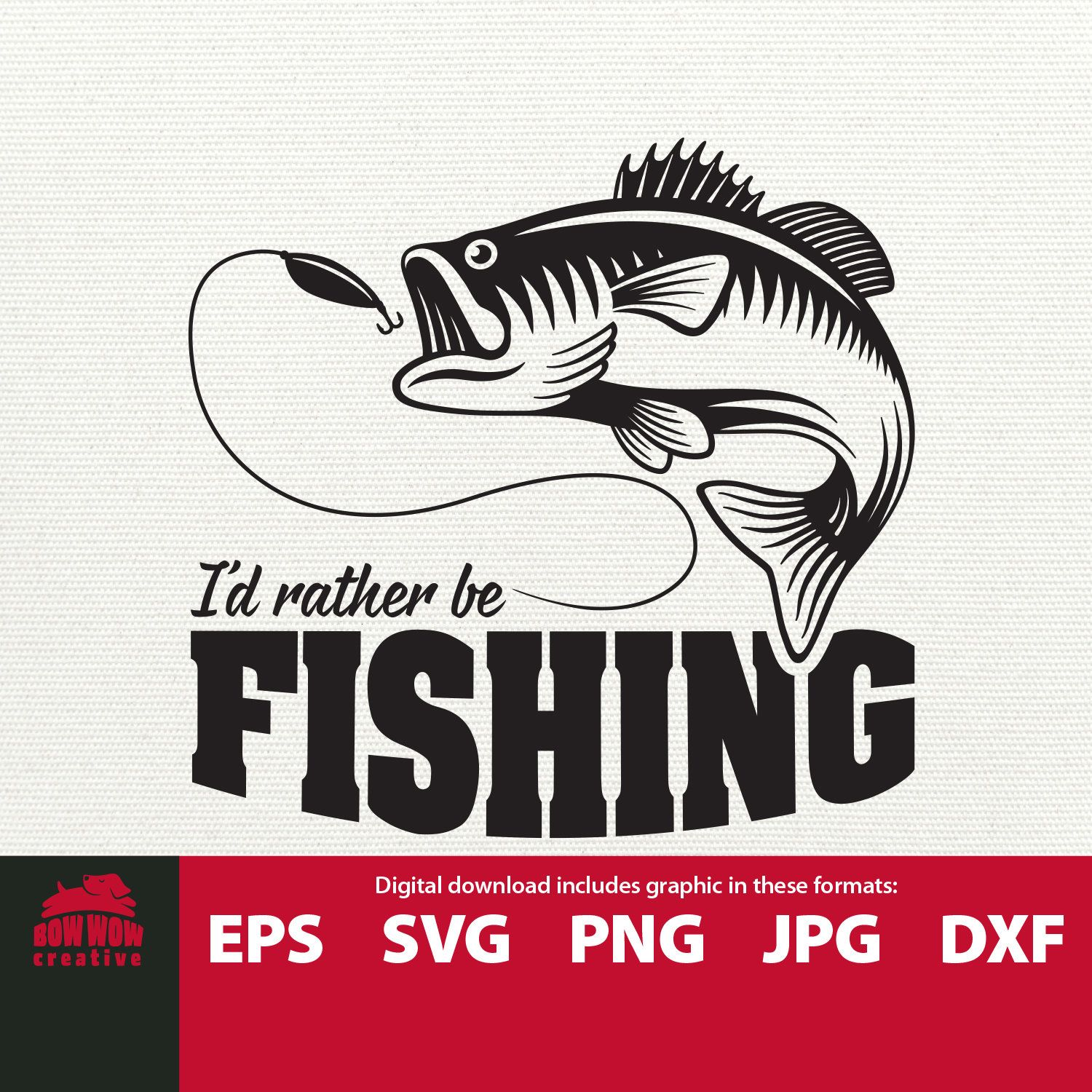 Download I D Rather Be Fishing Svg Jumping Fish Svg Fishing Svg Etsy Fishing Svg Fishing Decals Svg