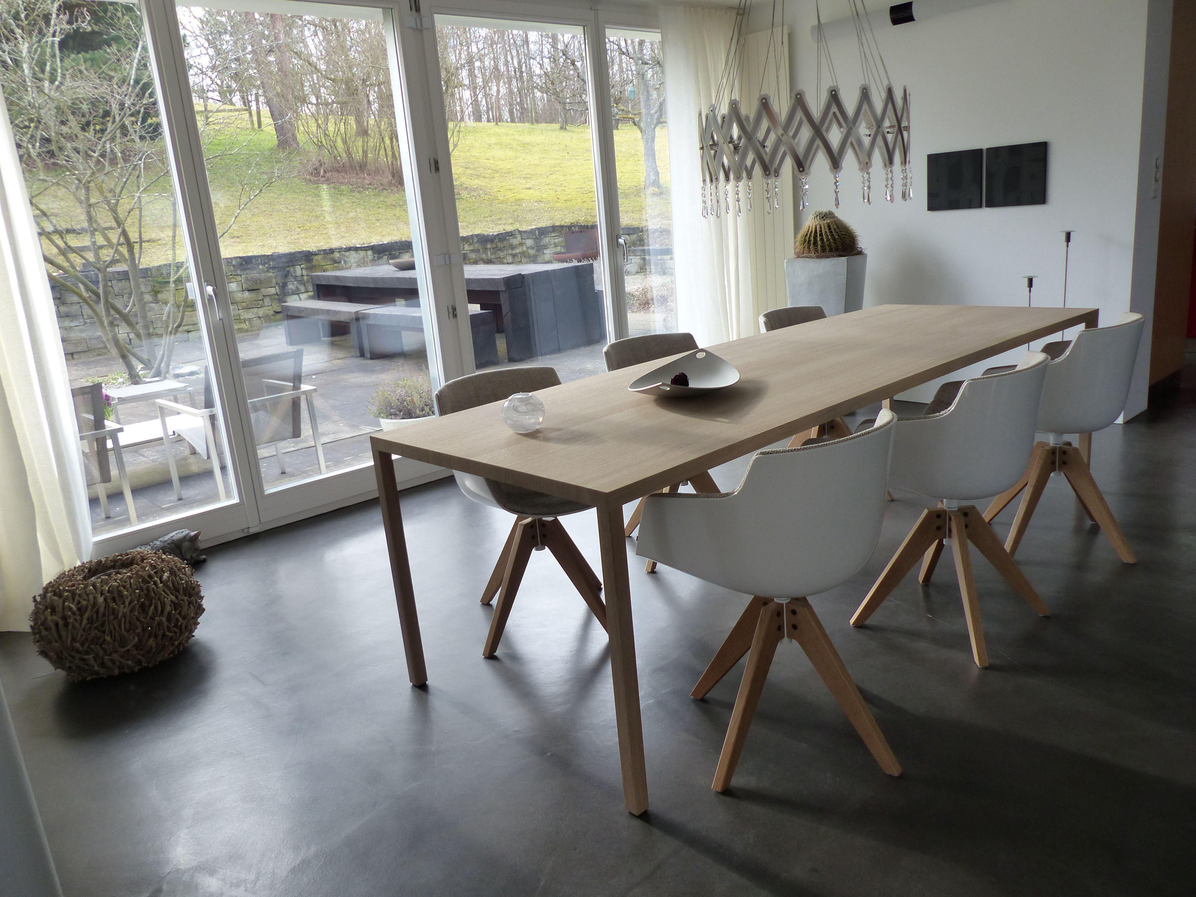 Stuhl Flow Chair von MDF Italia Tisch Din36 von Hubert Sanktjohanser