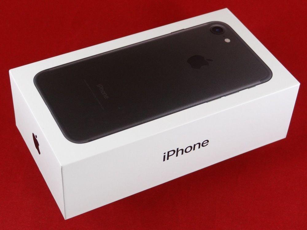 Brand New Apple Iphone 7 Black 32gb Verizon Only One Year Apple Warranty Ebay Link Tecnologia