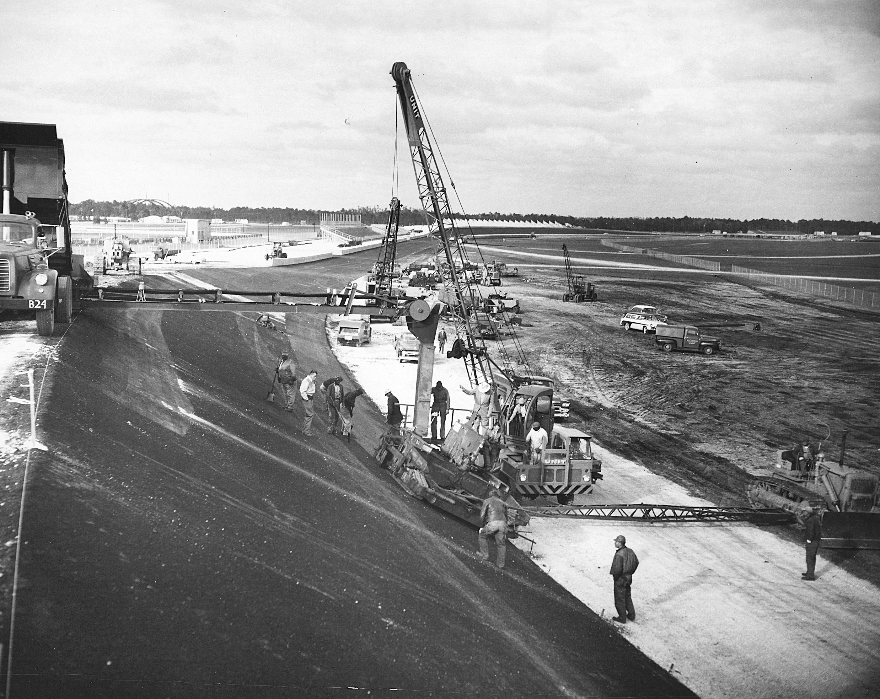 In 1958 Construction Of Daytona International Speedway Began Daytona International Speedway Talladega Superspeedway Talladega
