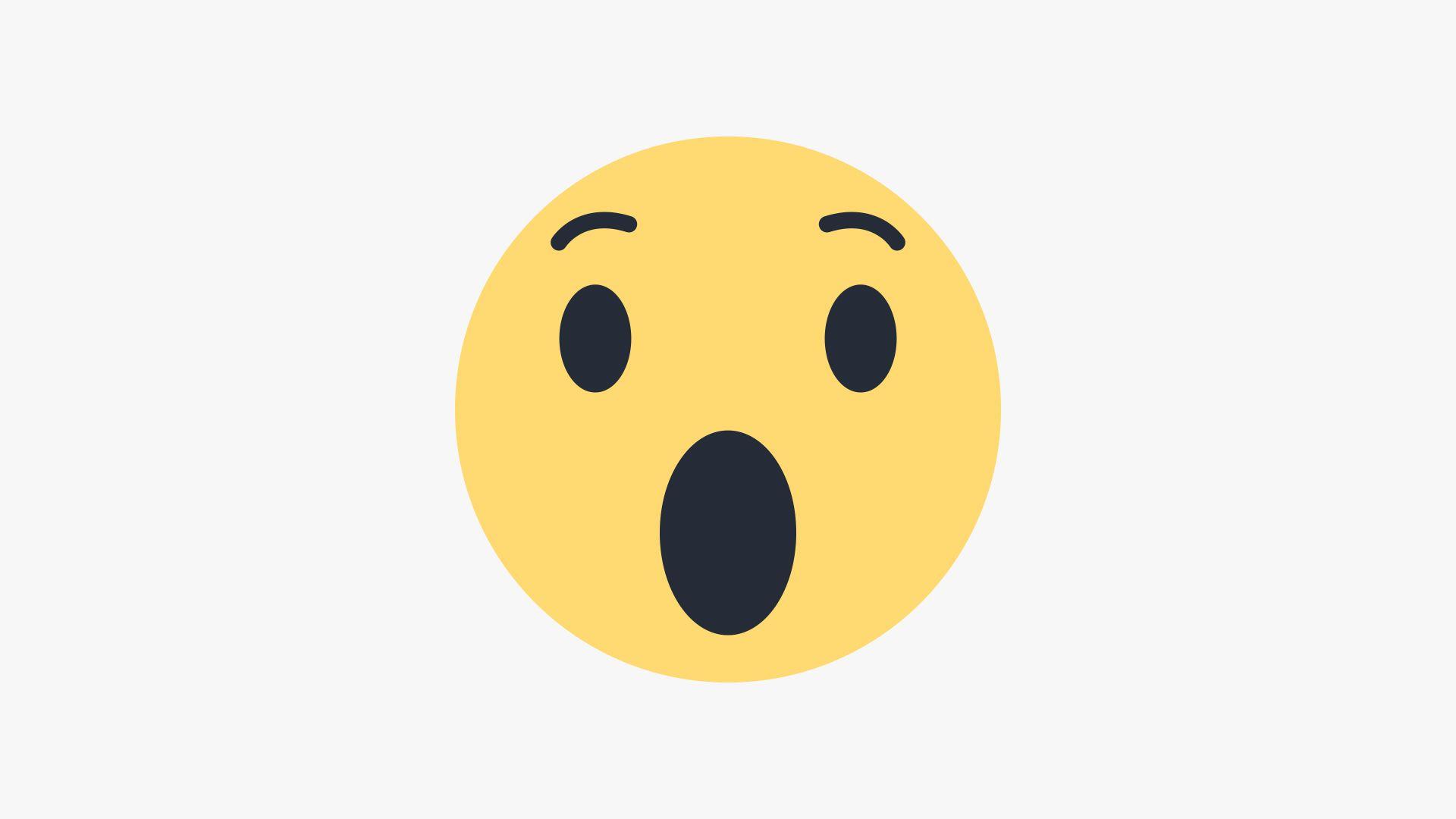 Draw Facebook Wow Emoji In Illustrator
