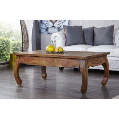 table basse rectangle baroque en bois massif de. Black Bedroom Furniture Sets. Home Design Ideas