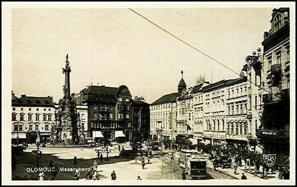 Horní náměstí, dříve Masarykovo