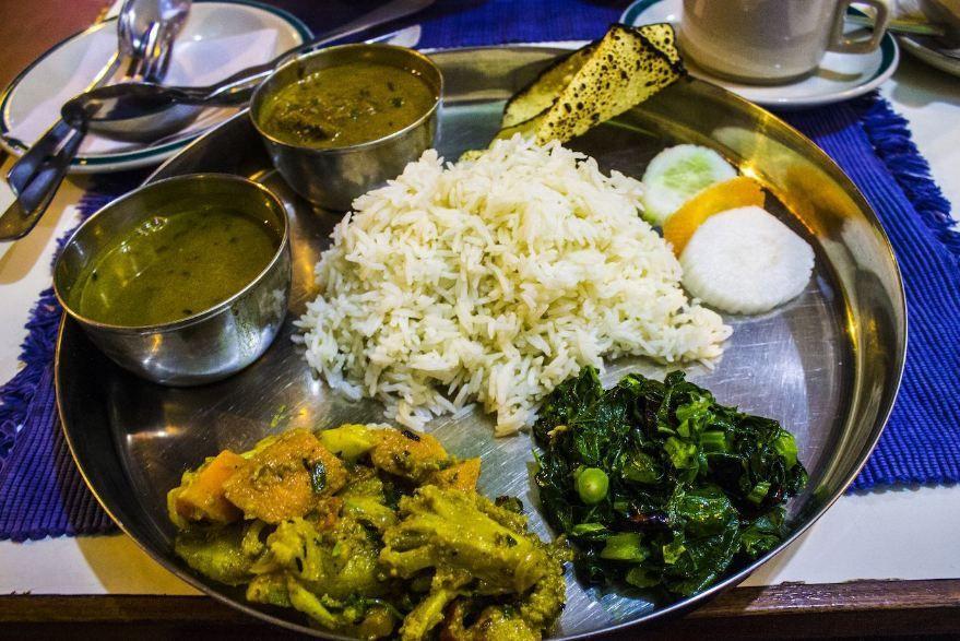 Dal Bhat, Nepal Gastronomie