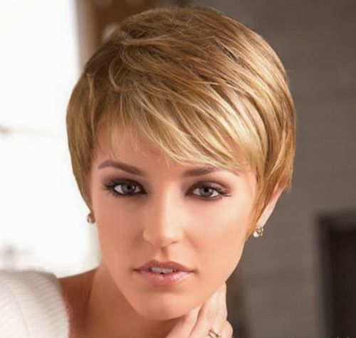 2017 Short Hairstyles Thin Hair Oval Face For Long Faces Fine
