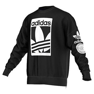 Herren Street Graphic Xl Ab8028 Crew Black Sweatshirt Adidas 1 7wfW1Eqddz