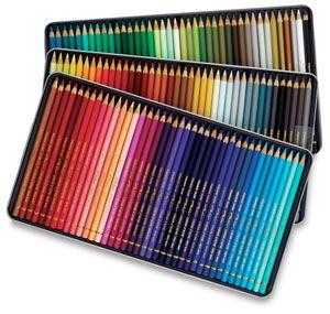 Caran D/'ache Pablo Coloured Pencil 120 Colour Tin