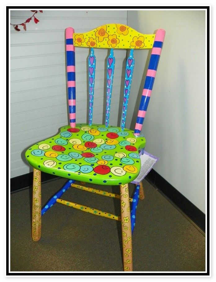 Hand Painted Furniture Funky Whimsical