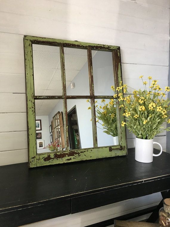 Window Mirror Farmhouse Rustic Interior Designer By TheDecorativeCompany 100s Of Styles In Stock
