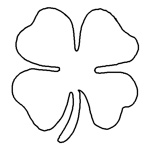 shamrock cut out template - multi step shamrock activity this is a fun visual motor