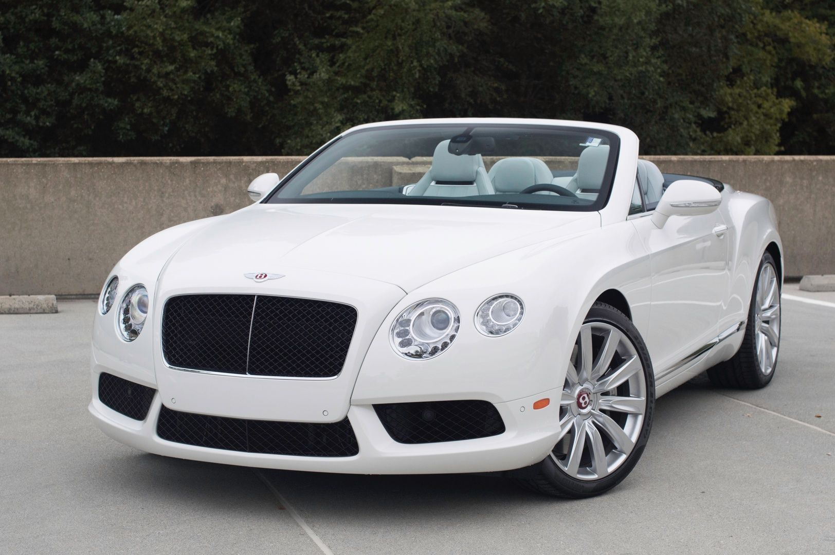 Bentley continental gtc white 2015 luxury