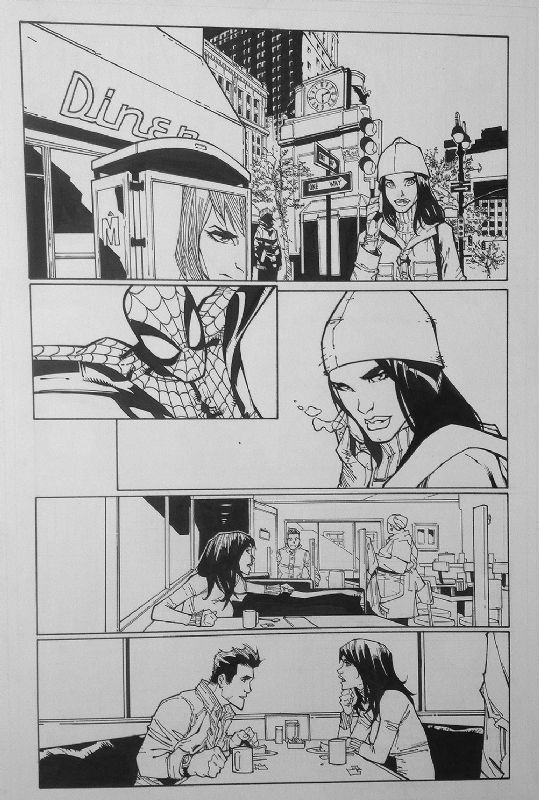 ASM 679 pg 15 Mary Jane Peter Parker Date, in MichelNapolis's ASM Comic Art Gallery Room - 912182