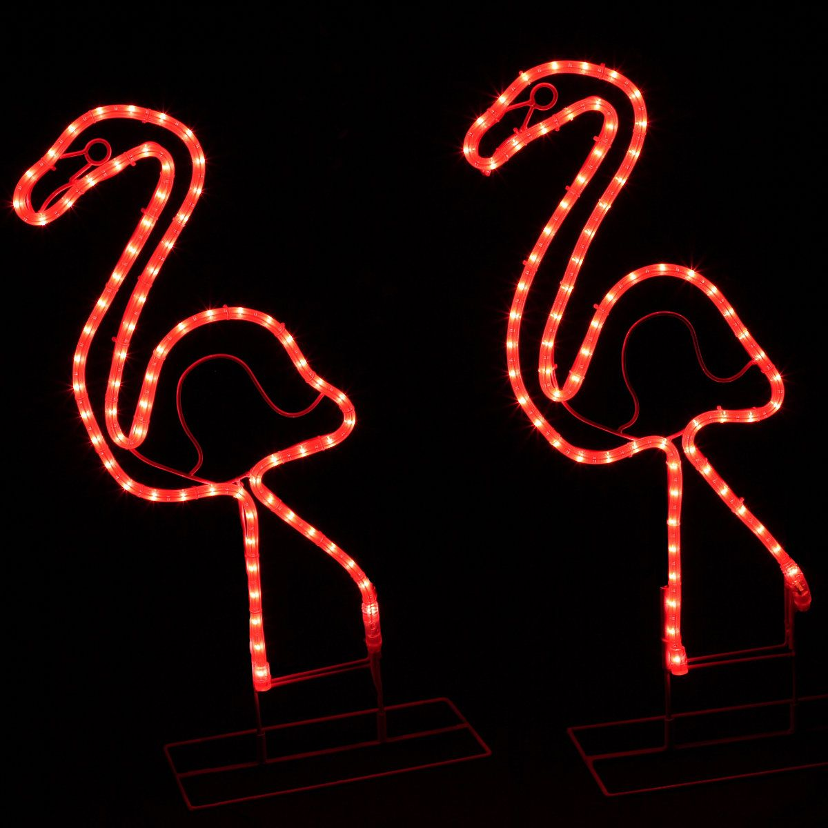 Lighted palm trees decor rope lighting flamingo and lights lighted palm trees decor mozeypictures Images