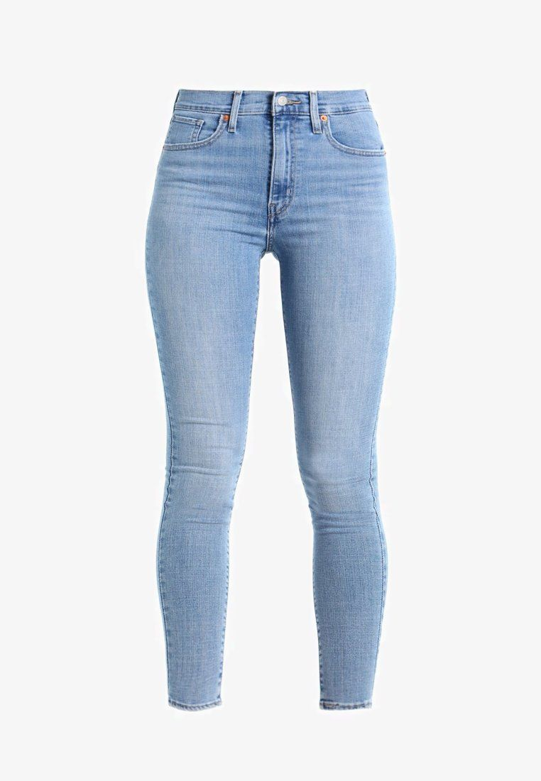 Levi s® MILE HIGH SUPER SKINNY - Jeans Skinny Fit - light-blue denim ... 806d6e6cdc