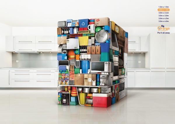 Self Storage Adverts Self Storage Ads Commercials Archive Big Orange Self Storage Self Storage Storage Kitchen Prints