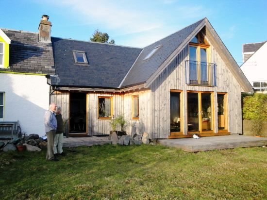 Lochdhu Cottages Ltd Self Build Houses For The Uk Self Build Houses Exterior House Remodel Cottage Extension