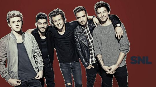 One Direction for SNL Promo