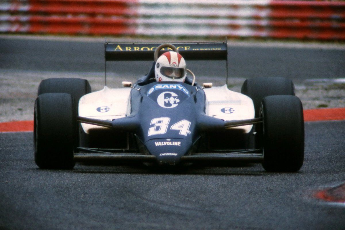 Johnny Cecotto, TheodoreFord N183, 1983 French GP, Le