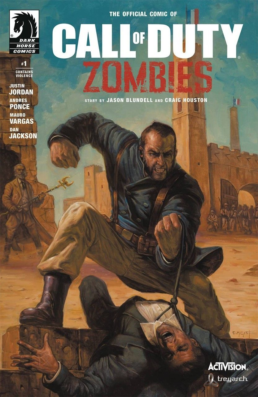 Dark Horse Call of Duty Zombies 2 1 Comic Book Call of