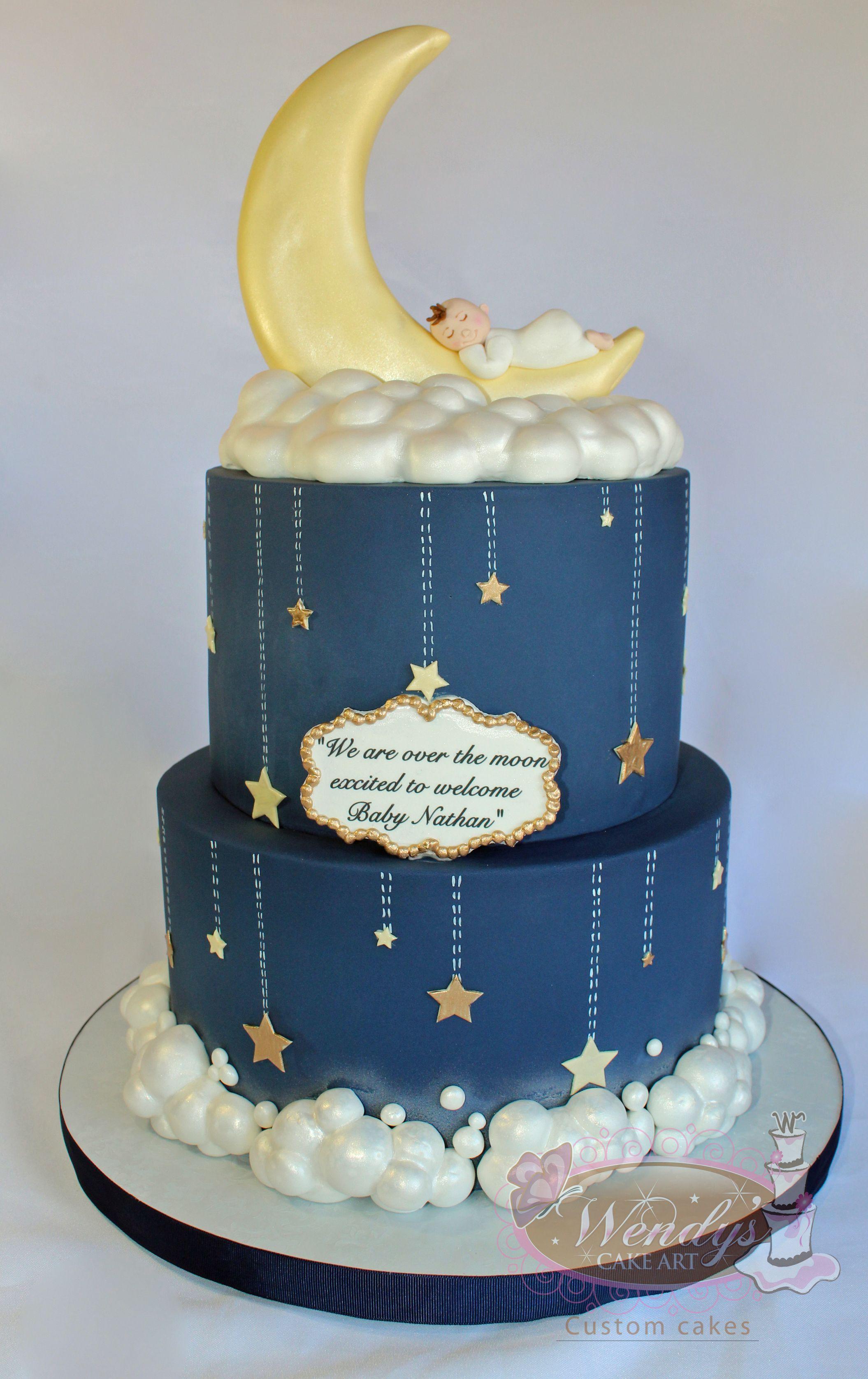 Www Wendyscakeart Com Baby Cake Baby Shower Cake Boy