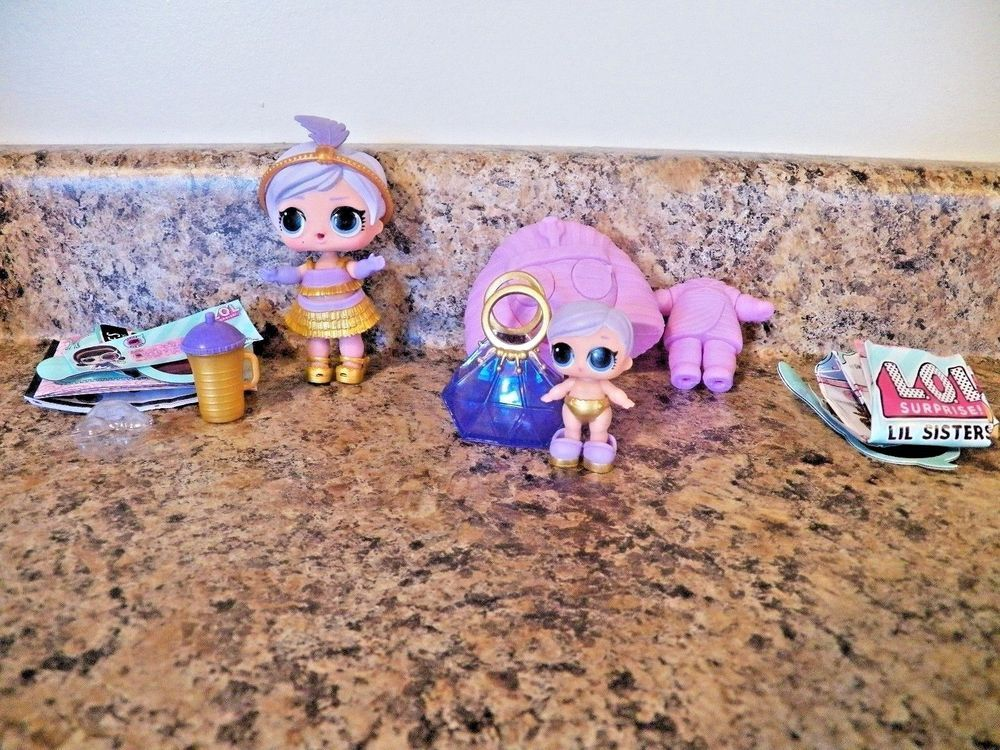 LOL Surprise Dolls Series 4 Under Wraps Eye Spy Big and Lil The Great Baby toy s