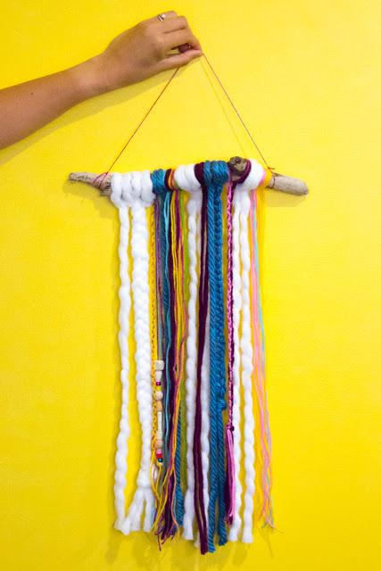 Photo of Easy DIY Boho Yarn Wall Hangings