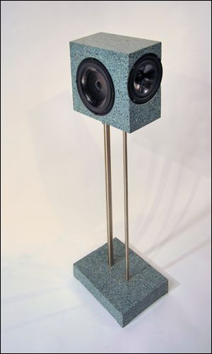 Cast Concrete Speakers - AudioKarma org Home Audio Stereo Discussion