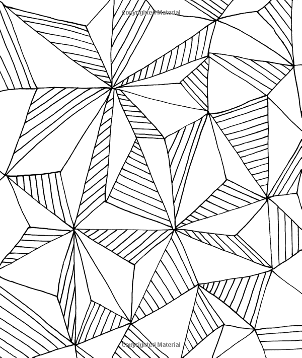 Just Add Color Geometric Patterns 30 Original Illustrations To Color Customize And Hang Lisa Pattern Coloring Pages Zentangle Patterns Mom Coloring Pages