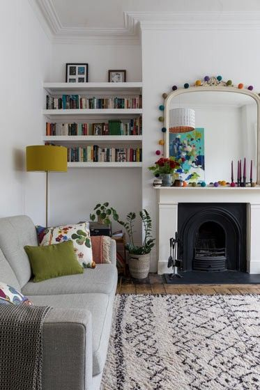 Imperfect Interiors Beth Dadswell Interior Garden Designer Dulwich Se21 London En G Victorian Living Room Living Room Victorian House Cosy Living Room